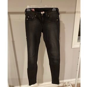 True Religion Dark Grey Jeans